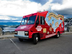 red truck truckee