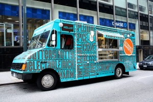 street sweets food truck - New York City